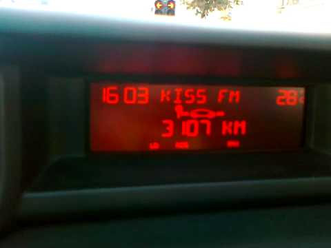BC on c3 Picasso 1.4 vti 95 hp II
