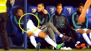 Funny Moments On The Bench • Marcelo, Messi, Ronaldo, Ibra