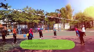 Volley and futsal competition Hidayatullah Islamic School Semarang