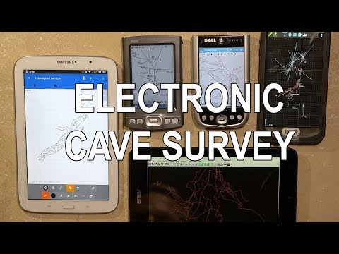 Electronic Cave Survey - An Overview