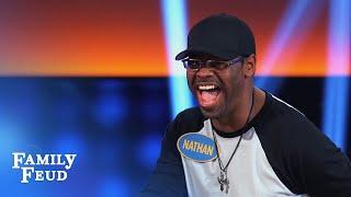 Boyz II Men podium serenade! | Celebrity Family Feud
