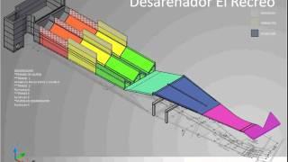 Secuencia Grafica Construcción Desarenador El Recreo
