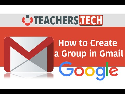 Gmail - How to Create a Group