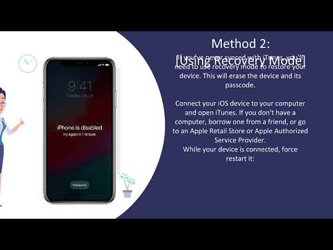 How to Unlock a stolen iPhone with  PASSCODE RESET ✅ | iPhone is Disabled | CanadaUnlocking.com