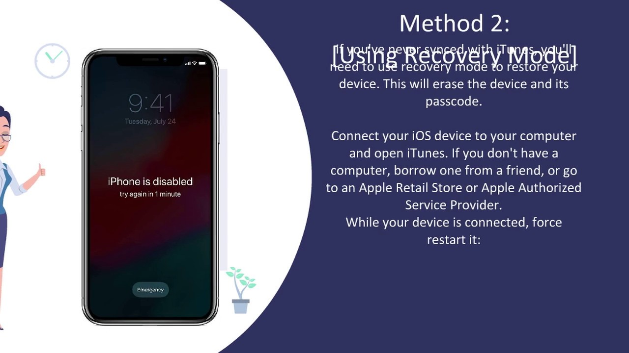 How to Unlock a stolen iPhone with PASSCODE RESET ✅ | iPhone is Disabled |  CanadaUnlocking com