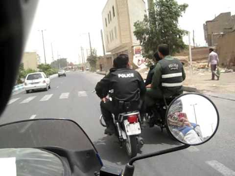 Qazvin, Iran (escorted by Police)