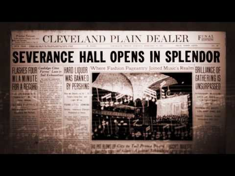 Cleveland Orchestra 100th Season Launch - History