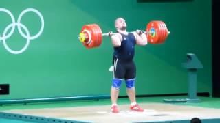 Mart Seim clean & jerk 195, 225, 243 kg
