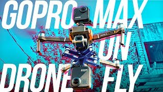 Cinematic Drone Video you haven't seen before - GoPro MAX(s) on Drone & How?