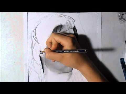 рисунок карандашом : Йен Сомерхолдер