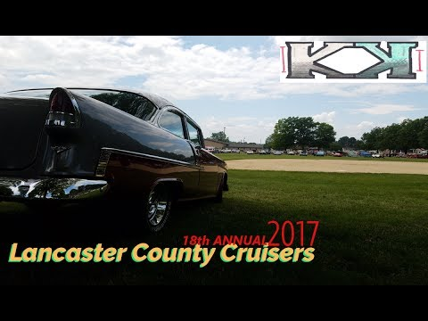 Lancaster County Cruisers 2017 Car Show Willow St Pa