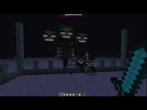 How To Make Wither Boss In MineCraft 1.4 Snapshot 12w36a