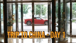 My Trip to China - Day 1 - Getting There