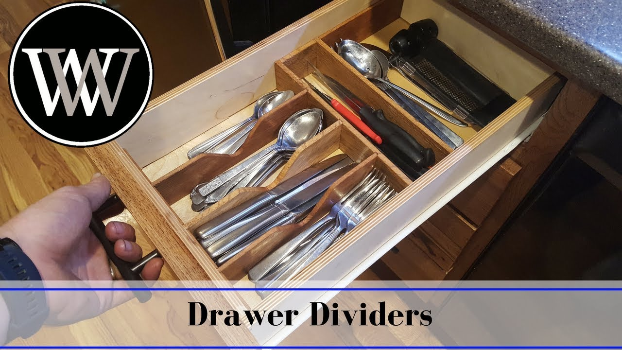 Superbe Making A Kitchen Drawer Organizer | DIY Hand Tool Woodworking Project
