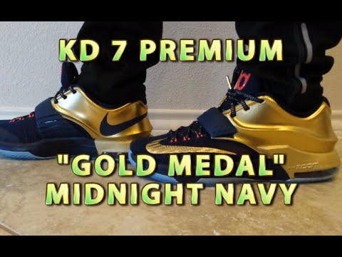 KD 7 VII Premium Gold Medal - Midnight Navy Review with ON FEET