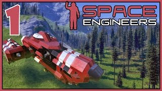 Space Engineers: Planets - Ep 1 - Moonbase
