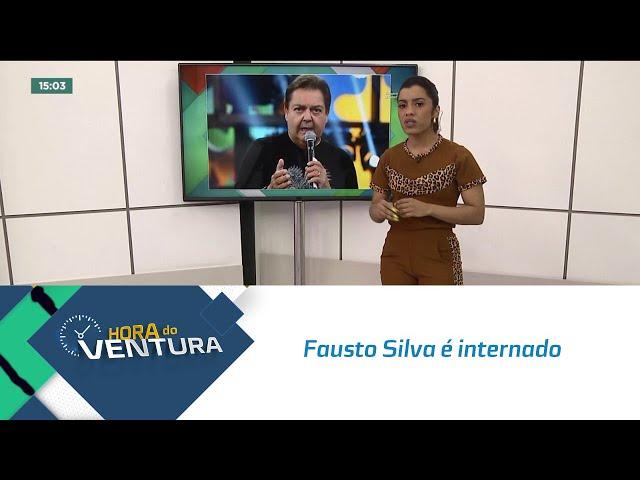Fausto Silva é internado e gravações do 'Domingão do Faustão' são canceladas