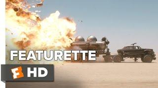 Mad Max: Fury Road Featurette - Tanker Explosion (2015) - George Miller Apocalypse Adventure HD