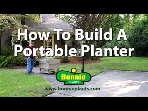 How to Build a Portable Planter