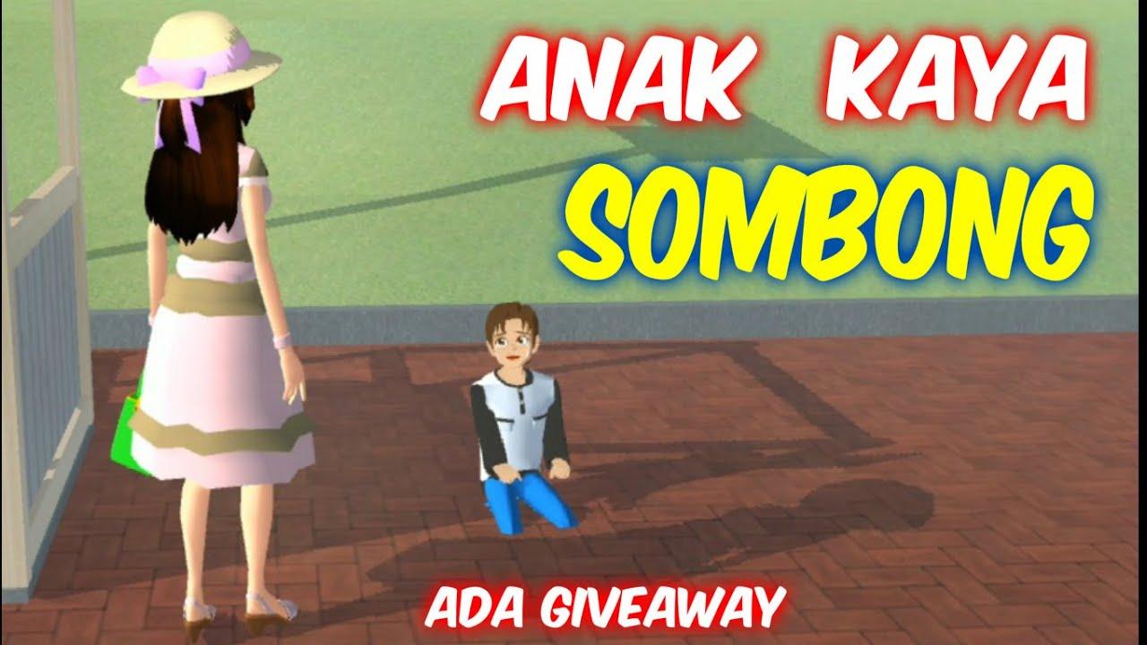 Sakura Drama Bocil Kaya Yang Sombong | Sakura School Simulator Indonesia | SSS Give Away