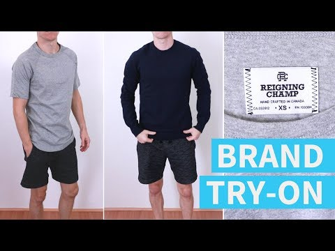 Is This $115 Sweatshirt Worth It? Reigning Champ Haul And Try-On