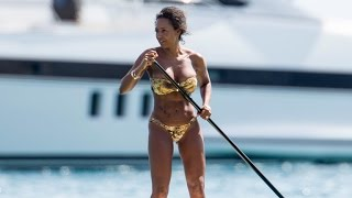 Mel B Flaunts Her Killer Abs on Vacation, Reveals Her Incredible Weight Loss