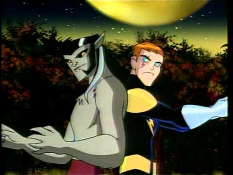 Legion of Superheroes - Catch Timber Wolf and the Legion ad