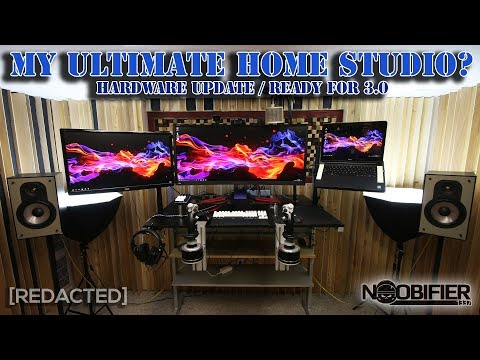 My Ultimate Home Studio - Hardware Updated - Ready for 3.0