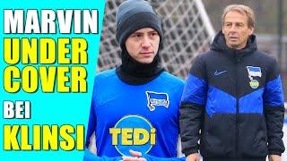 Undercover als Bundesliga Profi bei Klinsmann und Hertha BSC