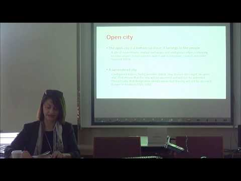 "Dr. Myria Georgiou (LSE): ""Is London open? Mediating and ordering cosmopolitanism in crisis"""