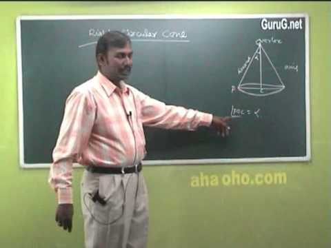 Unit-2 Three Dimensional Analytical Geometry (Equation f a Cone & Right Circular Cone) - Mathematics