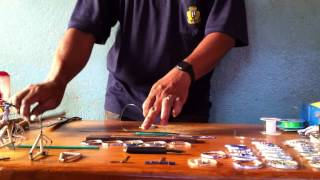 Madagascar -- Making toy bicycles using recycled materials