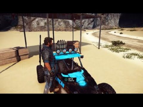 Just Cause 3 Clip