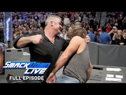WWE SmackDown LIVE Full Episode, 21 March 2017