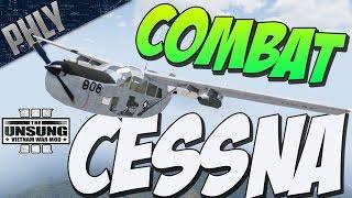 ARMA 3 VIETNAM - Cessna GUNSHIP ( Arma 3 Gameplay Unsung #1)
