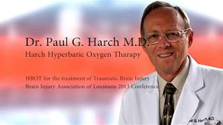 Dr. Paul Harch - Hyperbaric Oxygen Therapy For Traumatic Brain Injury