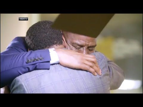 Magic Johnson and Isiah Thomas shed tears in emotional reconciliation | ESPN