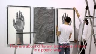 Hugo Lugo presenta su exposición extraños transcursos del tiempo en Yusto Giner