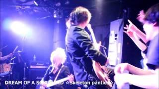 2016.04.22 ☆Skeleton panties☆ 「DREAM OF A SO RANCID」 ☆スケパン☆主...