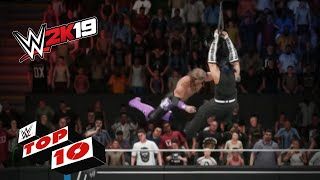 Awesome Ladder Moments: WWE 2K19 Top 10