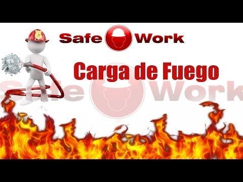 Cálculo de carga de fuego – protección contra incendios