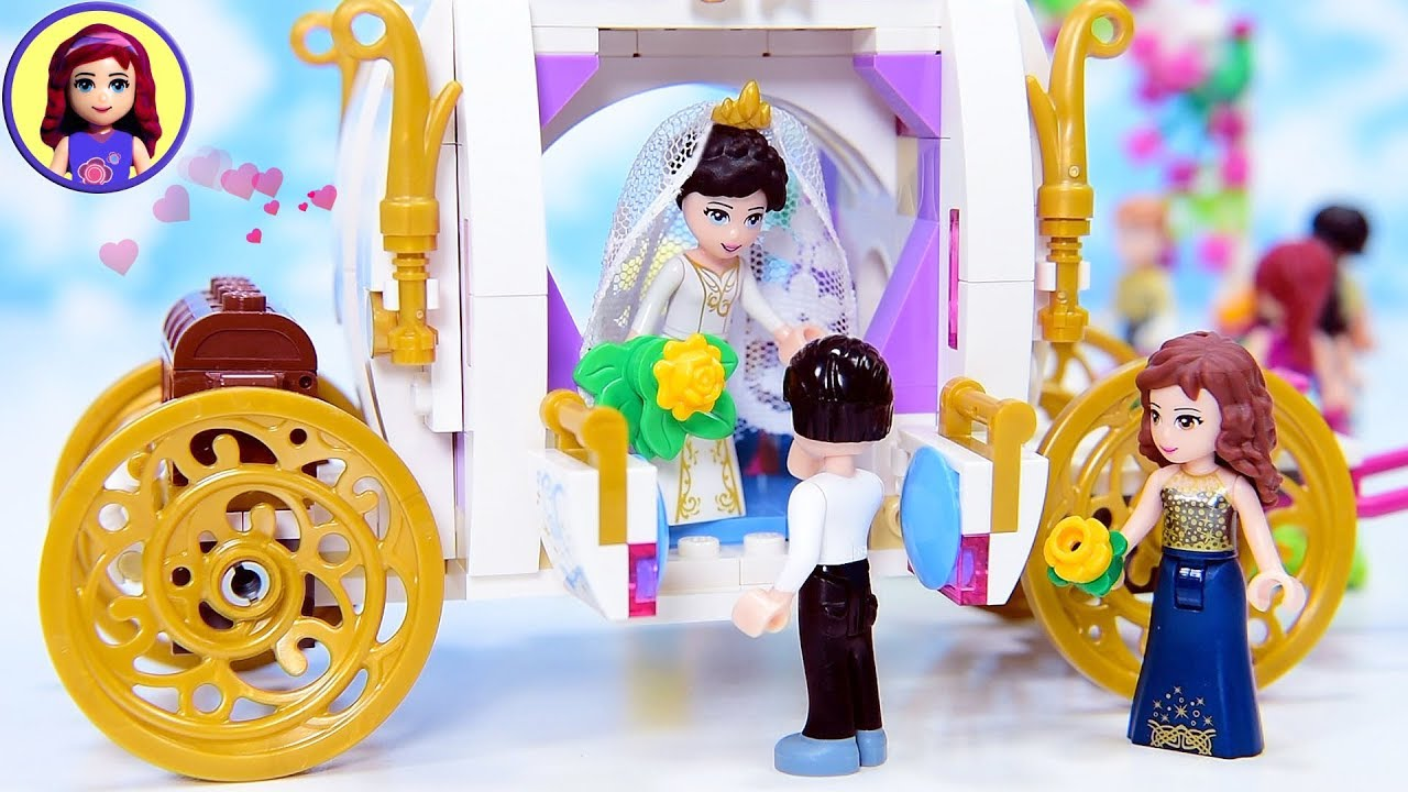 Sophie Henrys Wedding Honeymoon A Lego Friends Love Story
