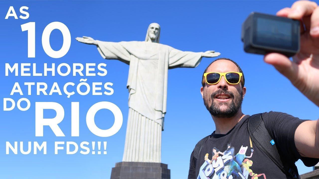 Os 10 melhores pontos turísticos do Rio de Janeiro p/ conhecer num final de semana [Dicas de viagem]