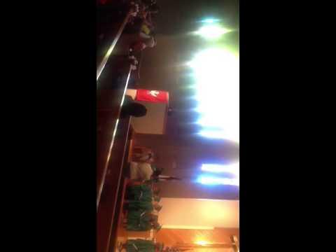 Me singing at First Presbyterian School