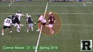 Connor Moore 2019 Spring Lacrosse Highlights 6 20 2019 1080p