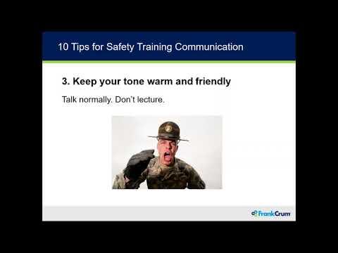 Construction Safety Best Practices Webinar