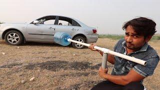 देसी जुगाड़ - We Made A Big Bottle Gun Launcher