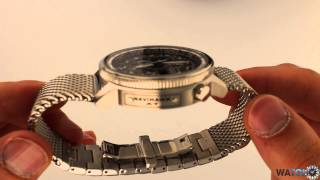 WatchO.co.uk - Citizen Navihawk Pilot Atomic Timekeeping Watch JY8030-83E | Unboxing & Close Look