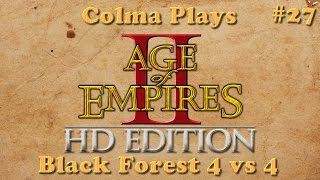 Age of Empires 2 - Game 27 - Black Forest 4vs4