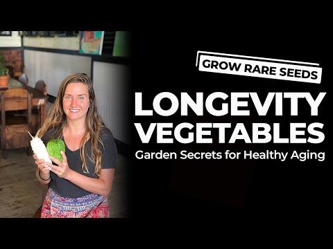 Longevity Vegetables: Garden Secrets for Healthy Aging